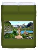 Near The Lake26 Duvet Cover