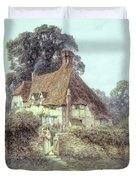 Near Witley Surrey Duvet Cover by Helen Allingham