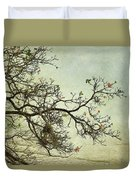 Nearly Bare Branches Duvet Cover