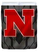 Nebraska Cornhuskers Uniform Duvet Cover