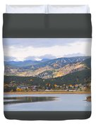 Nederland Colorado Scenic Autumn View Boulder County Duvet Cover by James BO  Insogna