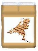 Nederland Stroopwafelland Duvet Cover