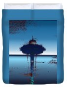 Needle In A Raindrop Stack 4 Duvet Cover