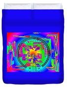 Needle In The Vortex Duvet Cover