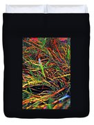 Needles Of Color Duvet Cover