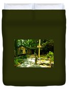 Neel Gap Appalachian Trail Duvet Cover