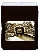 Neff's Mill Covered Bridge - Lancaster County Pa. Duvet Cover