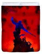 Negan Triumph  Duvet Cover