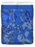Negative Photo Silkscreen Duvet Cover