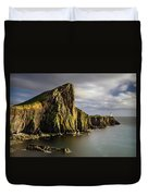 Neist Point Coastline Duvet Cover