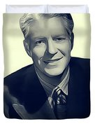 Nelson Eddy, Vintage Actor Duvet Cover