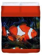 Nemo's Marlin Duvet Cover