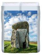 Neolithic Modern Duvet Cover
