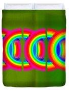 Neon Chain Duvet Cover