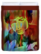 Neon Color Bob Dylan Duvet Cover