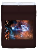 Neon Dance Duvet Cover