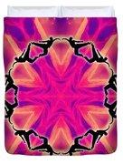 Neon Slipstream Duvet Cover