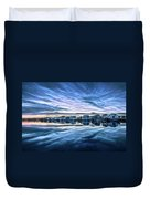 Neon Sunset Duvet Cover