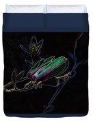Neon Tulip Tree 5090 Duvet Cover