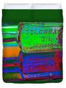 Neon Vessels Duvet Cover