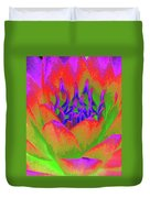 Neon Water Lily - Photopower 3370 Duvet Cover