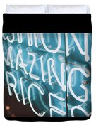 Neons Duvet Cover