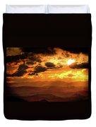 Nested Sun Duvet Cover