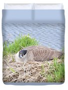 Nesting Goose Duvet Cover