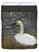 Nesting Swan Duvet Cover