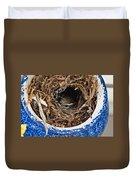 Nesting Wren Duvet Cover