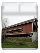 Netcher Road Covered Bridge 2 Duvet Cover