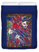 Neuronal Dendrites  Duvet Cover