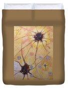 Neurons Duvet Cover