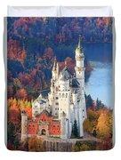 Neuschwanstein - Germany Duvet Cover