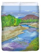 Nevada Oasis Duvet Cover