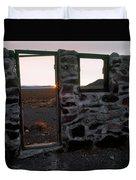 Nevada Pioneer History Duvet Cover