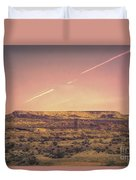 Nevada Usa Valley Of Fire  Duvet Cover