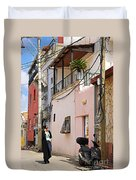 Neve Tzedek Neighborhood In Tel Aviv Duvet Cover