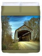 Nevins Covered Bridge Duvet Cover