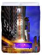 New Amsterdam Theatre Duvet Cover