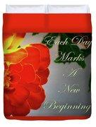 New Beginning Duvet Cover