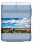 New Brighton Lighthouse  Duvet Cover