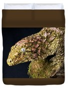 New Caledonian Giant Gecko Duvet Cover