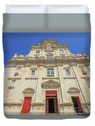 New Cathedral Of Coimbra Duvet Cover