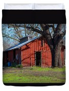 New Clairvaux Abbey Barn Duvet Cover