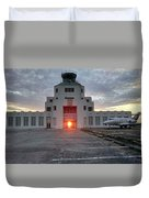 New Dawn For An Old Airport Duvet Cover