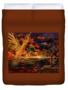 New Day Rising Duvet Cover