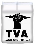 New Deal: Tva Symbol Duvet Cover
