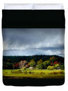 New England Countryside  Duvet Cover