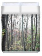 New England Forest Duvet Cover